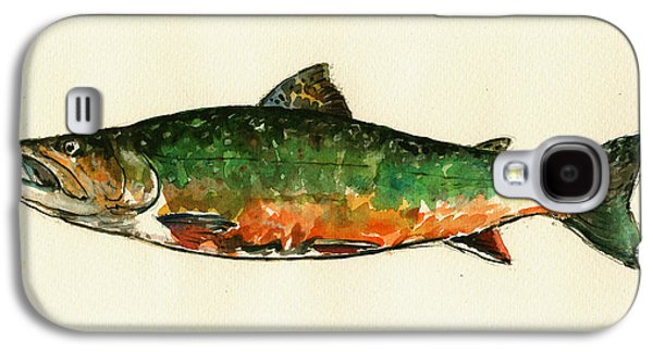Brook Trout Galaxy S4 Case by Juan  Bosco