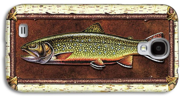 Brook Trout Lodge Galaxy S4 Case by JQ Licensing