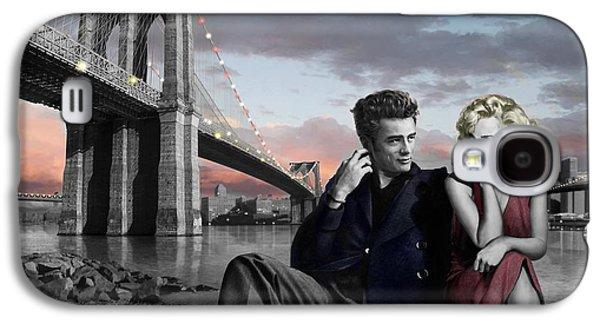 Elvis Presley Galaxy S4 Case - Brooklyn Bridge by Chris Consani