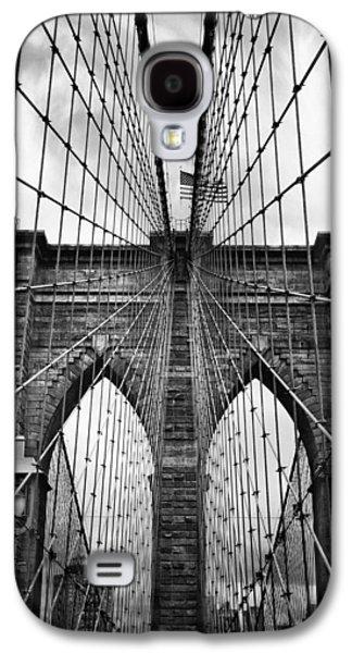 Brooklyn Bridge Mood Galaxy S4 Case by Jessica Jenney