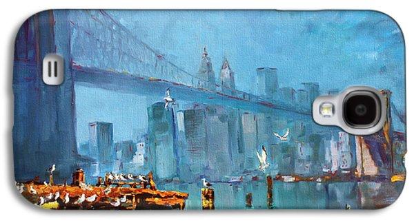 Brooklyn Bridge Galaxy S4 Case by Ylli Haruni