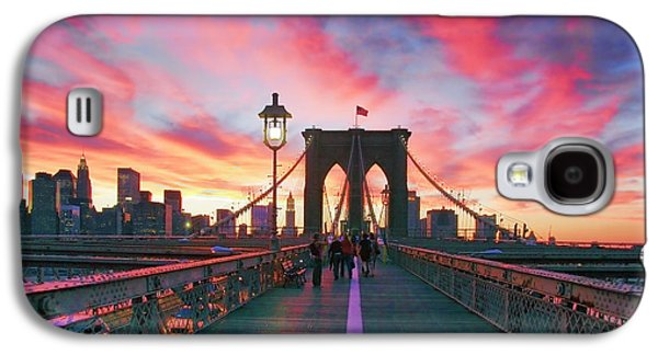 City Scenes Galaxy S4 Case - Brooklyn Sunset by Rick Berk