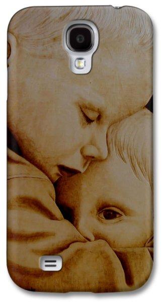 Brotherly Love Galaxy S4 Case by Jo Schwartz