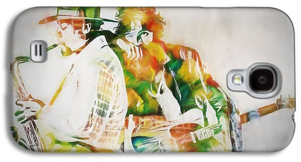 Bruce Springsteen Galaxy S4 Case - Bruce And The Big Man by Dan Sproul