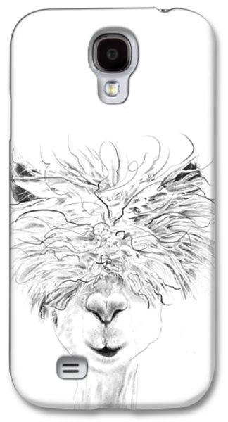 Llama Galaxy S4 Case - Bruce by K Llamas