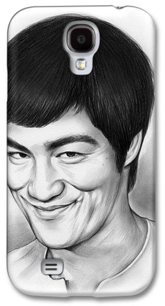 Bruce Lee Galaxy S4 Case by Greg Joens