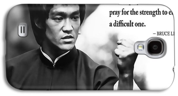 Bruce Lee On Enduring Life's Challenges Galaxy S4 Case