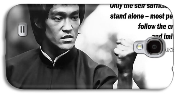 Bruce Lee On Self Sufficiency Galaxy S4 Case