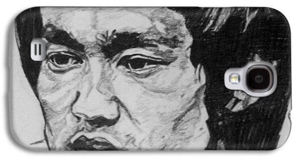 Bruce Lee Galaxy S4 Case by Rachel Natalie Rawlins