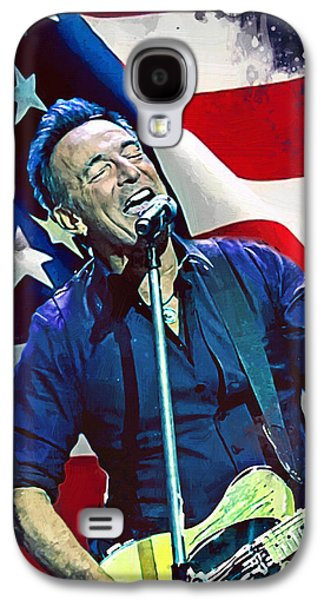 Bruce Springsteen Galaxy S4 Case - Bruce Springsteen by Afterdarkness