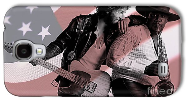 Bruce Springsteen Clarence Clemons Galaxy S4 Case