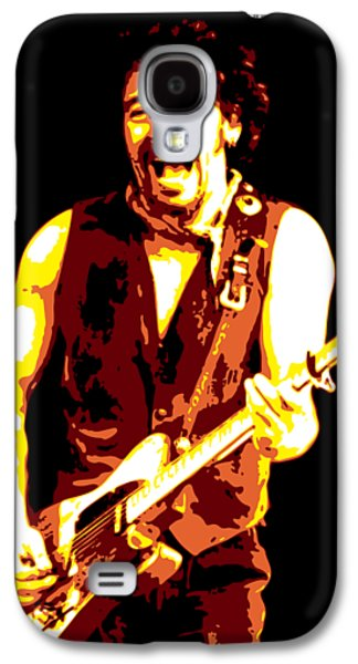 Bruce Springsteen Galaxy S4 Case - Bruce Springsteen by DB Artist