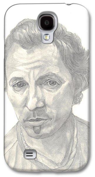 Bruce Springsteen Portrait Galaxy S4 Case