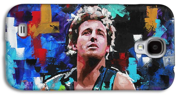 Bruce Springsteen Galaxy S4 Case - Bruce Springsteen by Richard Day