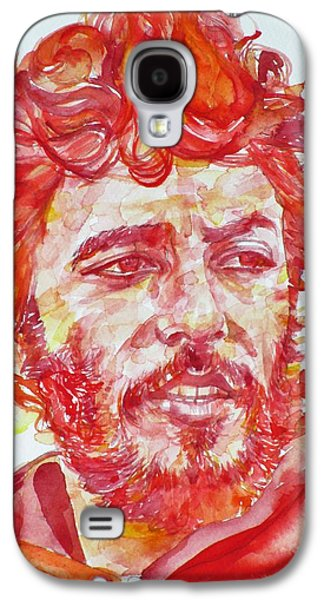 Bruce Springsteen - Watercolor Portrait.13 Galaxy S4 Case
