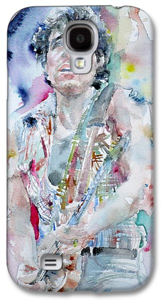 Bruce Springsteen - Watercolor Portrait.5 Galaxy S4 Case