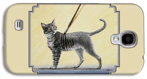 Brushing The Cat - No. 2 Galaxy S4 Case