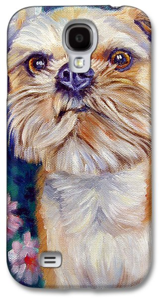 Brussels Griffon Galaxy S4 Case by Lyn Cook