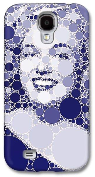 Bubble Art Marilyn Monroe Galaxy S4 Case by John Springfield