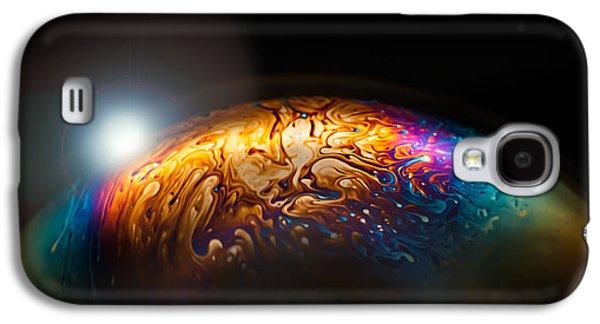 Bubble Planet I  Galaxy S4 Case