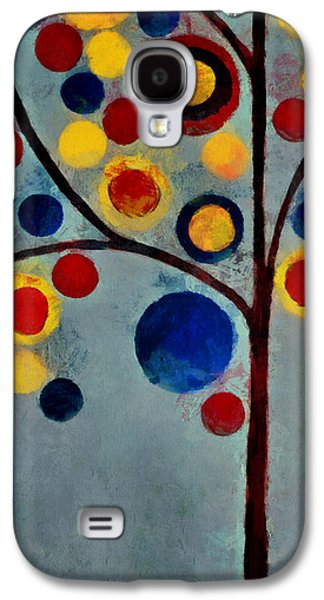Bubble Tree - Dps02c02f - Left Galaxy S4 Case by Variance Collections