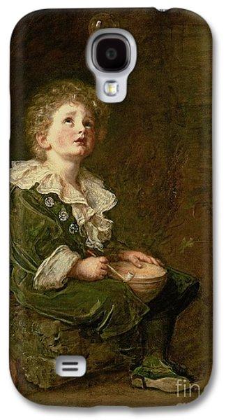 Bubbles Galaxy S4 Case by Sir John Everett Millais