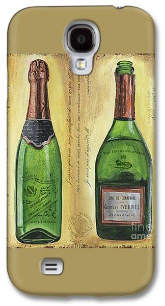 Bubbly Champagne 1 Galaxy S4 Case by Debbie DeWitt