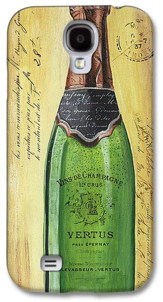 Bubbly Champagne 2 Galaxy S4 Case by Debbie DeWitt