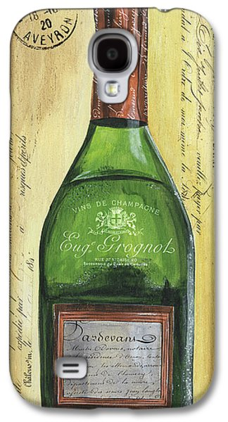 Bubbly Champagne 3 Galaxy S4 Case by Debbie DeWitt