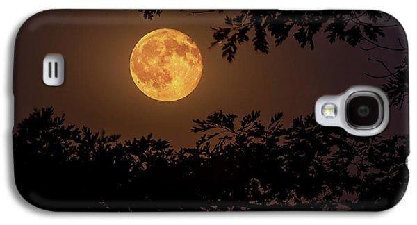 Buck Moon 2016 Galaxy S4 Case by Everet Regal