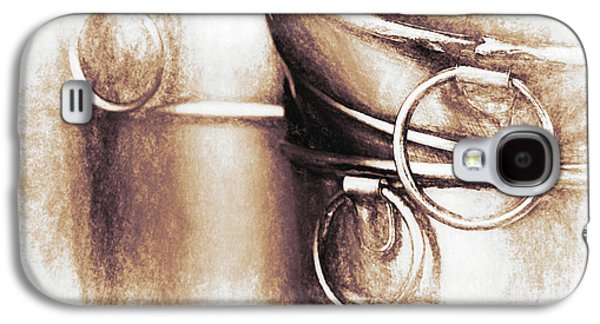Stainless Steel Galaxy S4 Case - Bucket Art by Tom Mc Nemar