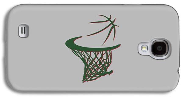 Bucks Basketball Hoop Galaxy S4 Case