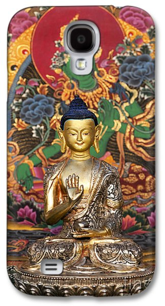 Buddha Blessing Galaxy S4 Case by Tim Gainey