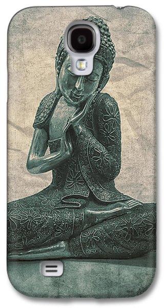 Buddha Contemplate Galaxy S4 Case by Madeleine Forsberg