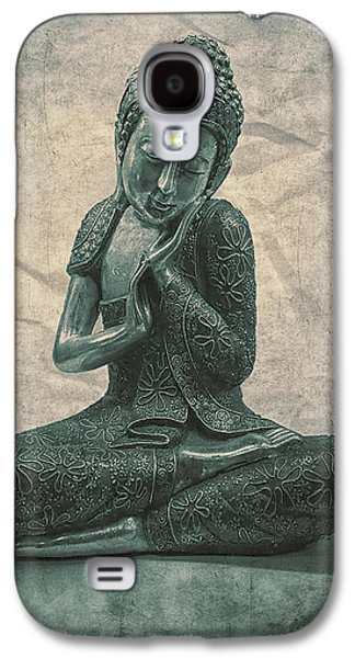 Buddha Contemplate Galaxy S4 Case by Madeleine Forsberg
