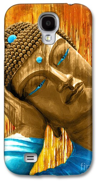 Buddha Contemplation Galaxy S4 Case by Khalil Houri
