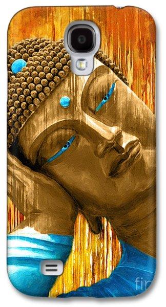 Buddha Contemplation Galaxy S4 Case