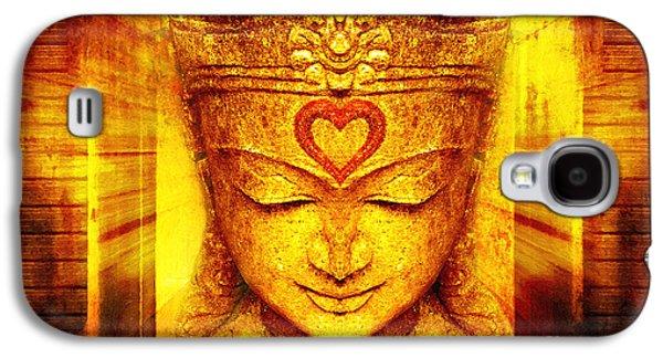 Buddha Entrance Galaxy S4 Case by Khalil Houri