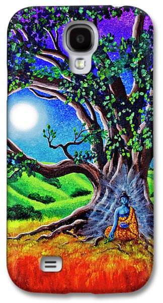 Buddha Healing The Earth Galaxy S4 Case by Laura Iverson
