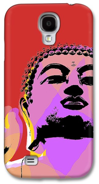 Buddha Pop Art  Galaxy S4 Case by Jean luc Comperat