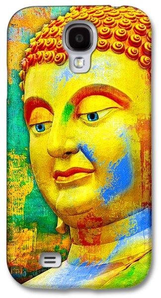 Buddha Rainbow Galaxy S4 Case
