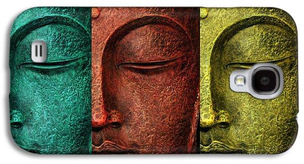 Buddha Statue Galaxy S4 Case by Mark Ashkenazi
