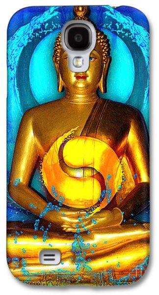 Buddha Yin Yang Galaxy S4 Case by Khalil Houri