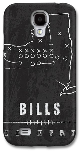 Buffalo Bills / Nfl Football Art / Orchard Park New York Galaxy S4 Case
