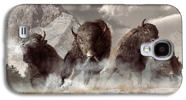 Buffalo Galaxy S4 Case by Daniel Eskridge