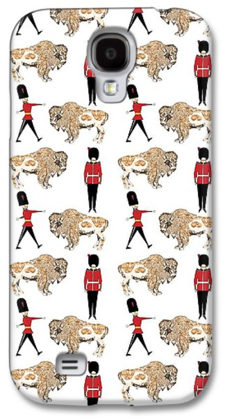 Buffalo Soldier Galaxy S4 Case by Beth Travers