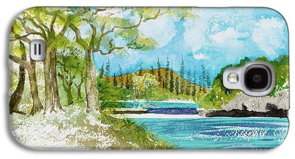 Bugny Trees At Kanumera Bay, Ile Des Pins Galaxy S4 Case