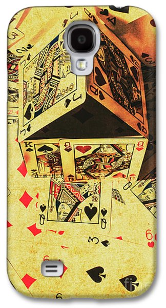 Galaxy S4 Case featuring the photograph Building Bets And Stacking Odds by Jorgo Photography - Wall Art Gallery