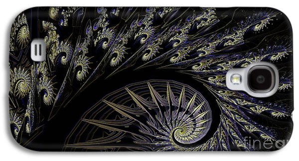 Building On Chaotic Thoughts Galaxy S4 Case by Elizabeth McTaggart