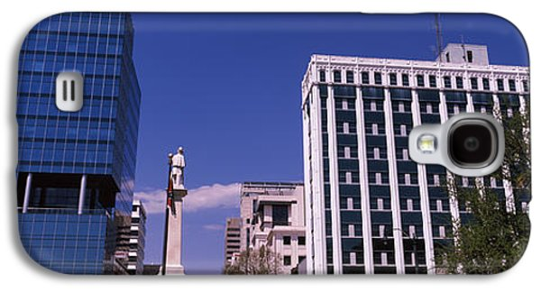 Buildings Near Confederate Monument Galaxy S4 Case by Panoramic Images